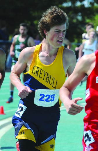 Gaven McColloch won two events at the regional meet last weekend in Shoshoni.