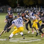 Tammy Keele photo: Friday night homecoming event was the battle royale between the Riverside Rebels and Greybull Buffs.