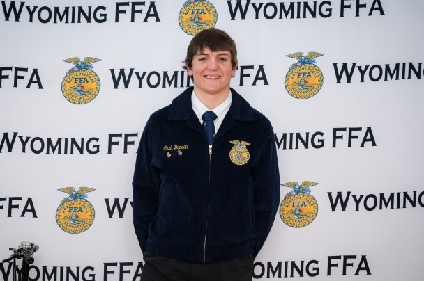Courtesy photo Dirt Road Wife Photography Paintrock FFA Chapter President Cash Duncan placed seventh in Employment Skills and received his State FFA Degree.