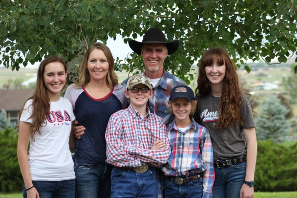 Courtesy photo The Greer family (l-r) Madison, Amber, Dawson, Tyler, Stetson and Allison.