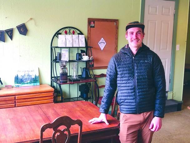 Scott Boeckner has opened Aspire Coffee Roasters in downtown Greybull.