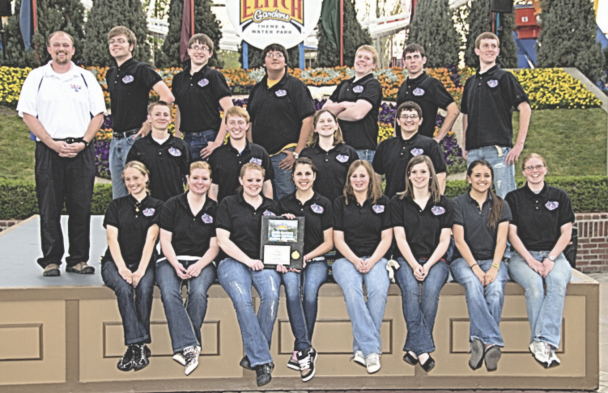 file photo The LHS Band poses for a group photo in 2011. Pictured are (back row, l-r) band director Dane Mickelson, Peter Moncur, Derek Phelps, Nic Martinez, Morgan May, Calin McArthur, McKayan May, (middle) Hunter Hinckley, Jacob Mayes, Sage Whicker, Ross Hammond, (front) Meryk McArthur, Natalie Watson, Traci Averett, Mesa Matthews, Brianna Harvey, Camille Ohman, MadisonTippetts and Nikki Emmett. See more in excerpt from 10 years ago.